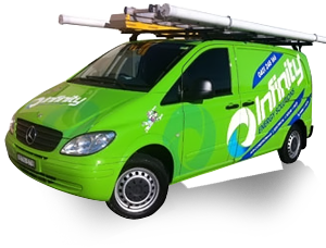 Infinity Energy Solutions Workmans vehicle