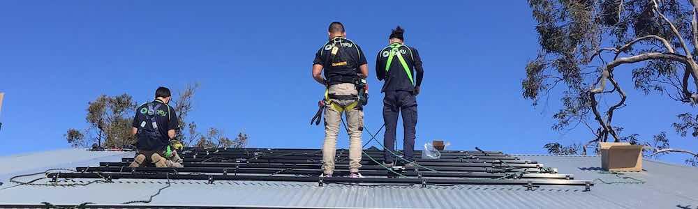 20 Solar Panel Installation